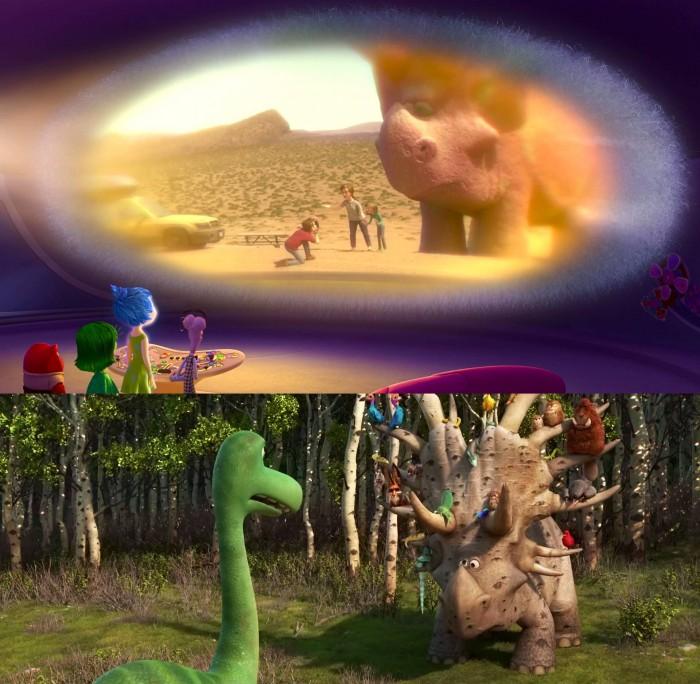 Inside Out Good Dinosaur Easter Egg