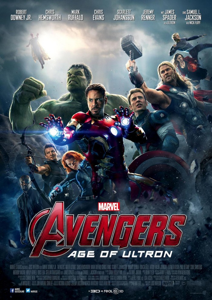 International Avengers Age of Ultron Poster