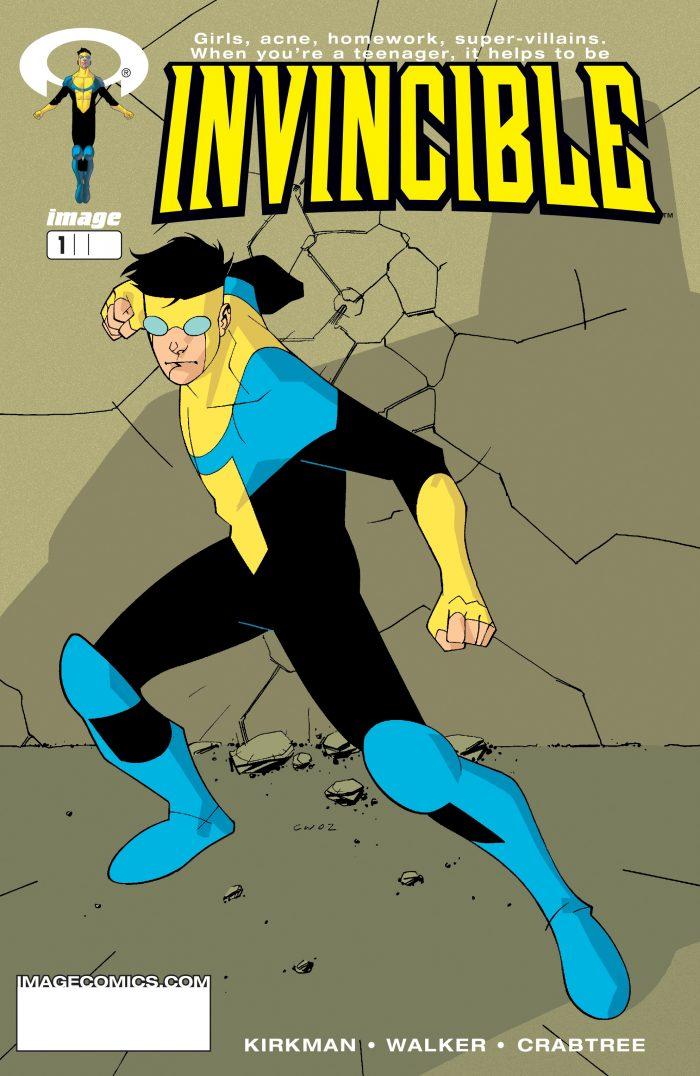Invincible cover 2