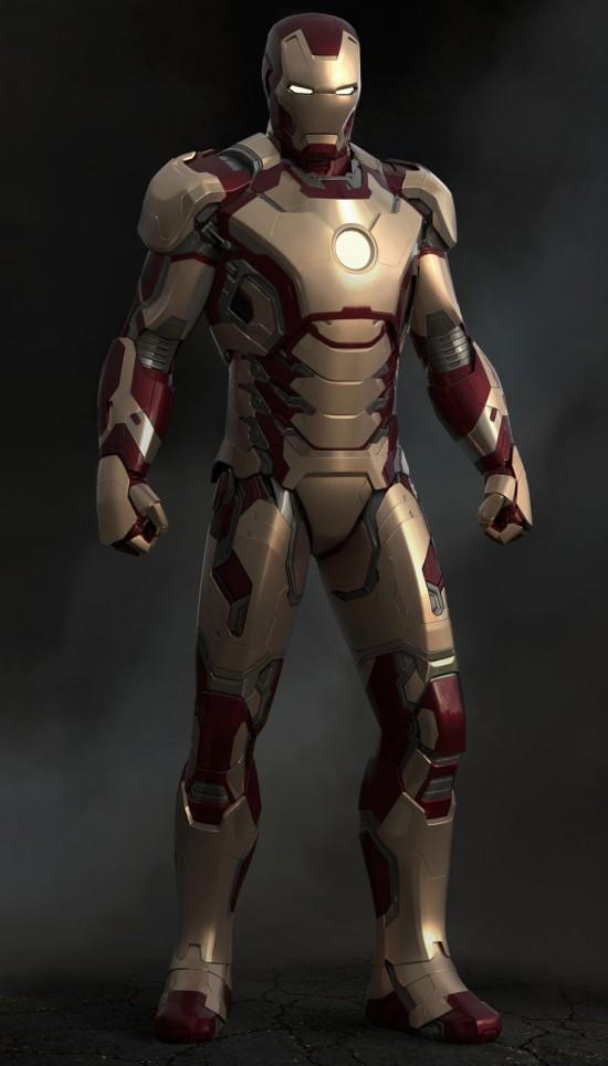 Iron Man 3 Digital Sculpt