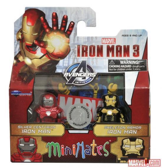 Iron Man 3 Minimates