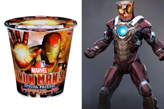 Iron Man 3 Ramen
