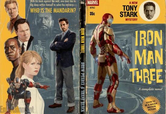 Iron Man 3 Wrap poster