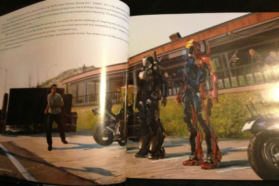 Iron Man 3 concept illustration