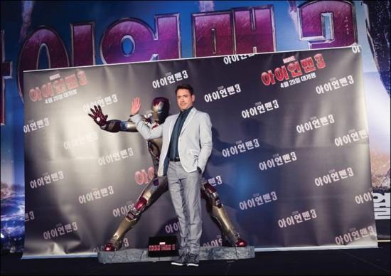Iron Man 3 korea