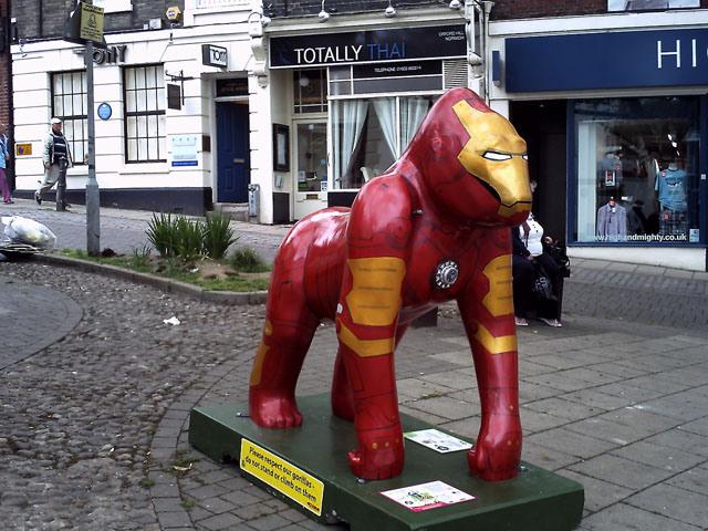 Iron Man Gorilla