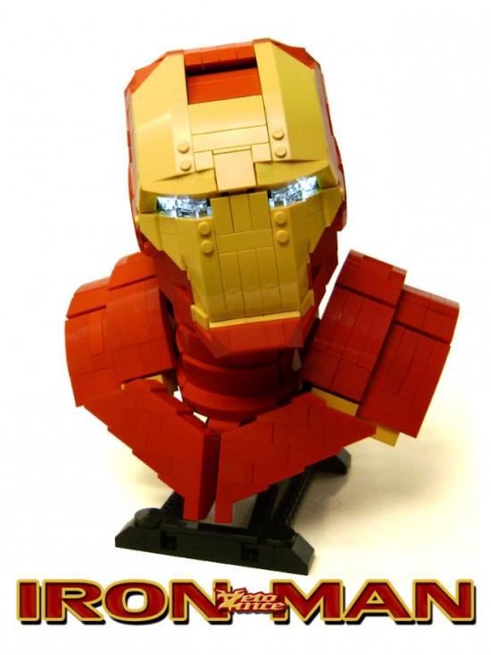 Iron Man Lego Bust