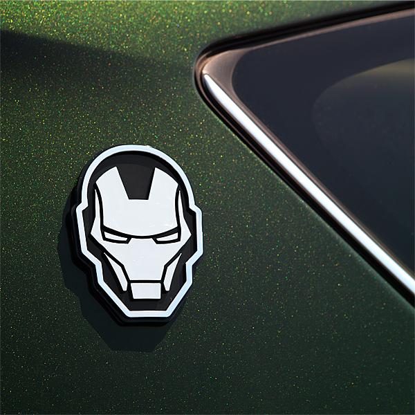 Iron Man car emblem