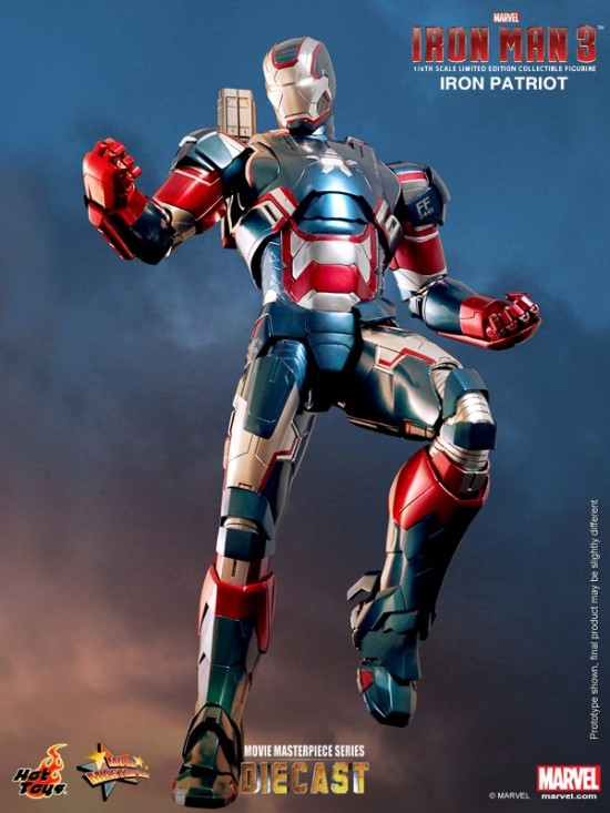 Iron Patriot Hot Toys