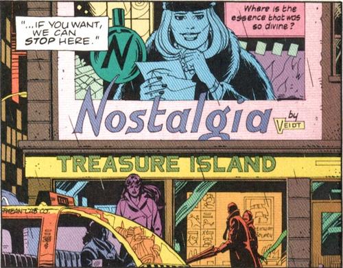 treasure island comic book store