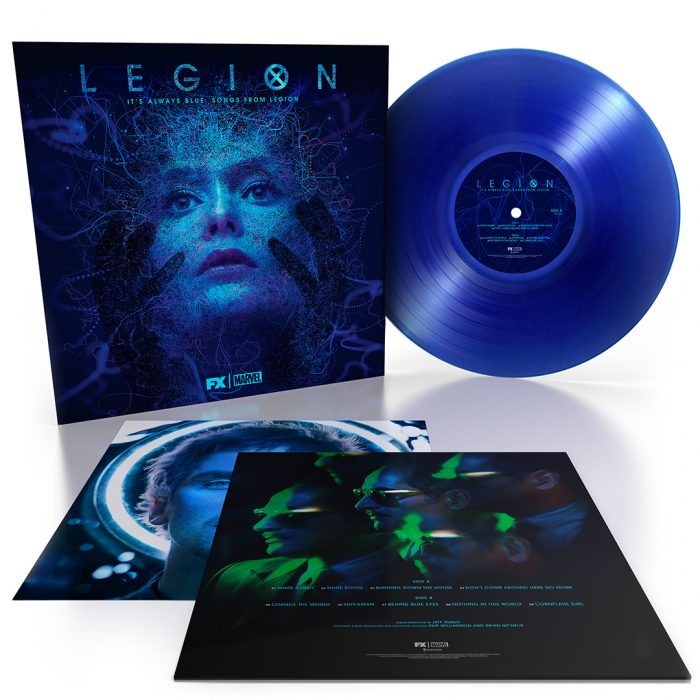 It's Always Blue Legion Vinyl Cover