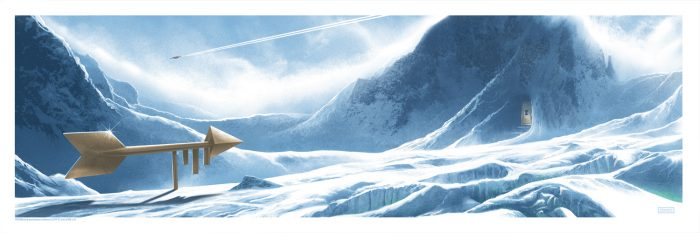 "JC Richard ""Fortress of Solitude"" Screen print"
