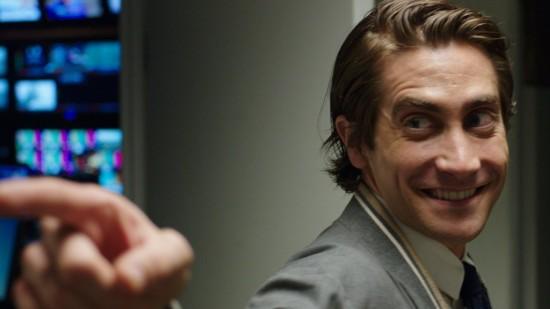 Jake Gyllenhaal as Lou Bloom in Nightcrawler
