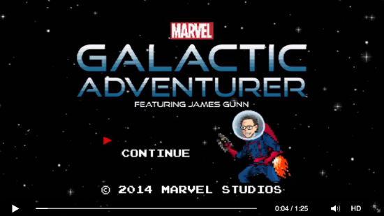 James Gunn Galactic Adventurer
