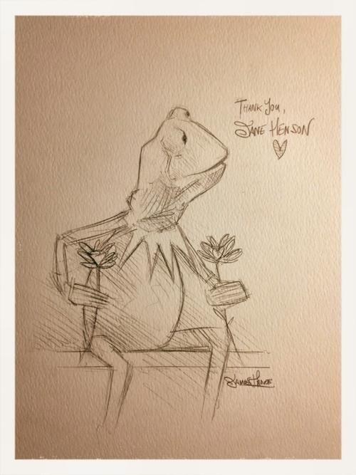 Jane Henson Kermit sketch