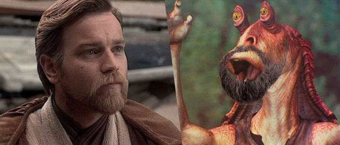 Rumor: A Bearded Jar Jar Binks Will Appear in the Obi-Wan Kenobi Disney+ Series