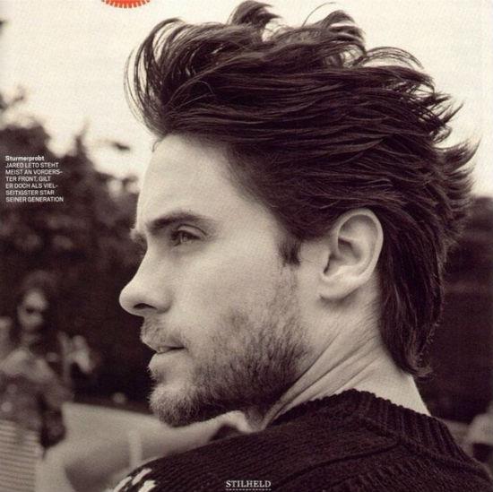 Jared Leto haircut