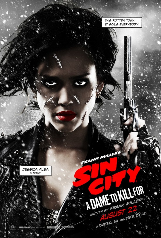 Jessica Alba Sin City 2 poster