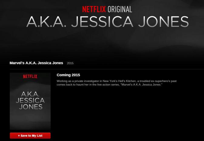 Jessica Jones placeholder