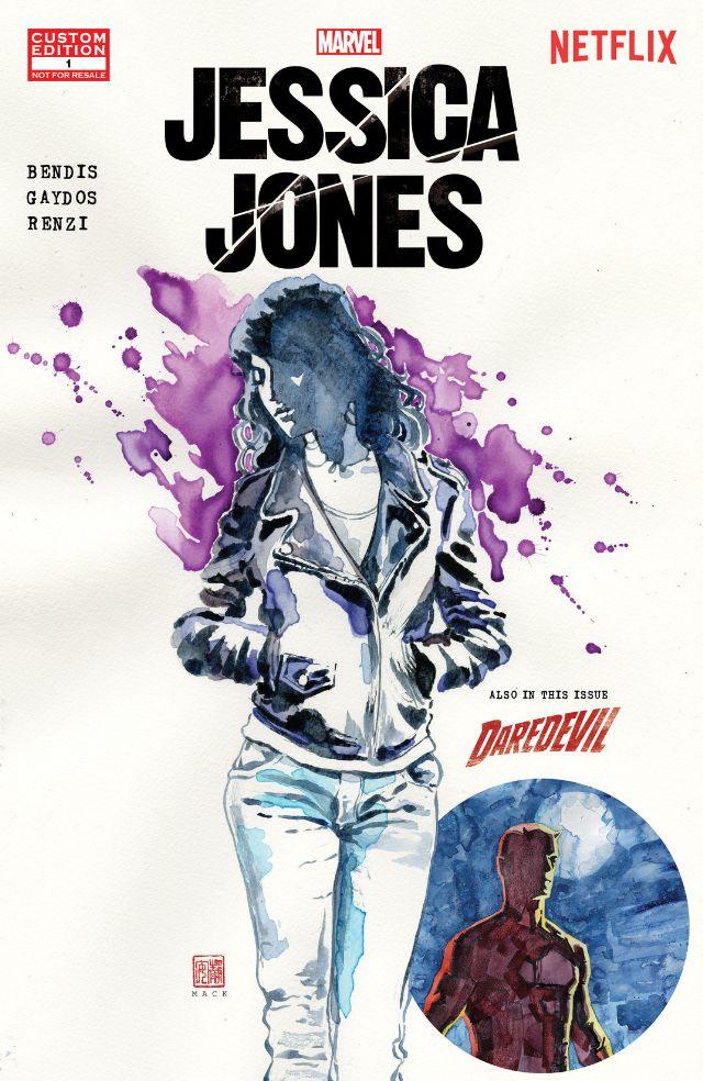 Jessica Jones prequel comic