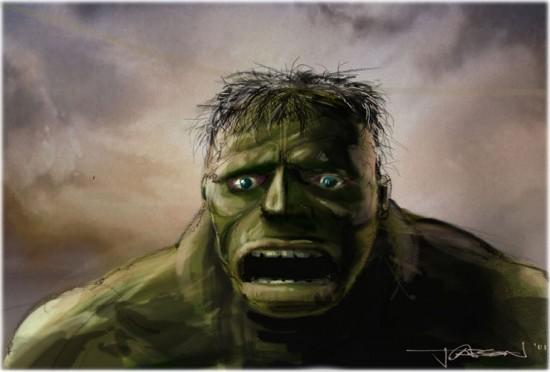 Jim Carson Hulk Concept