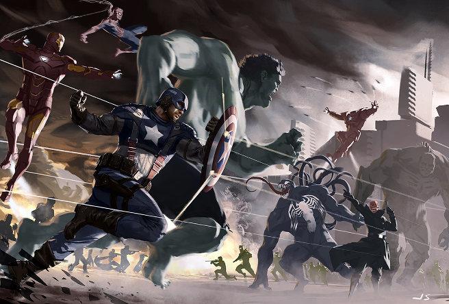 John Staub Avengers