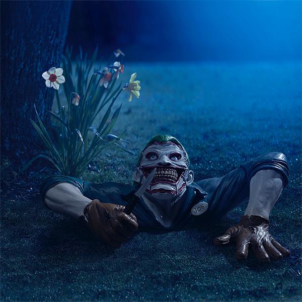 Joker lawn ornament