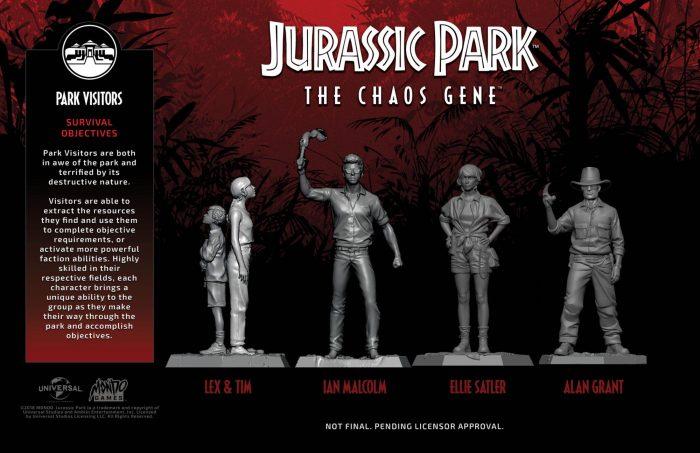 Jurassic Park: The Chaos Gene ingen