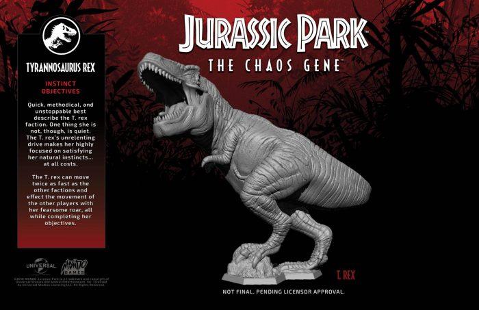 Jurassic Park: The Chaos Gene t-rex