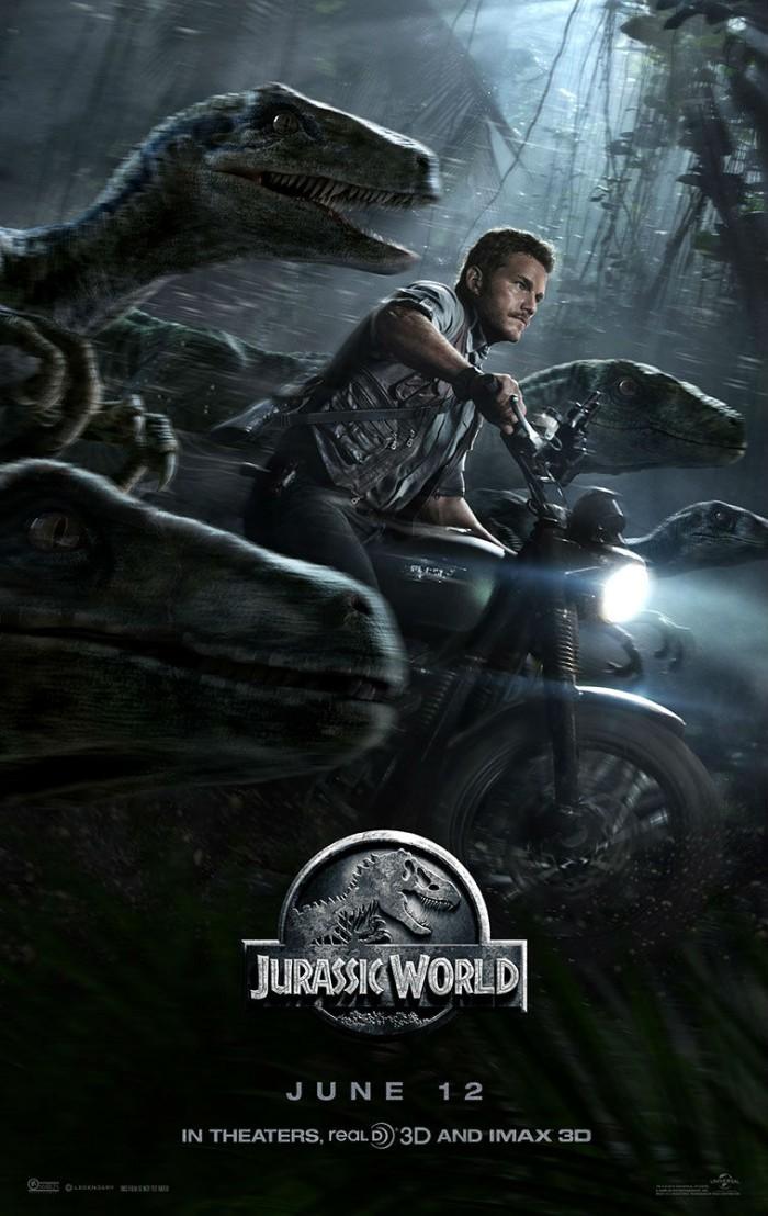 Jurassic World Poster raptors