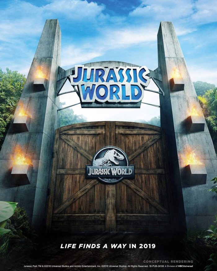 Jurassic World Ride poster