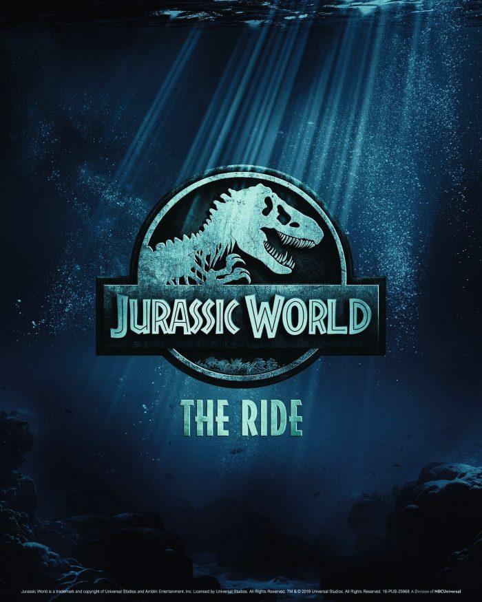 Jurassic World The Ride at USH teaser image