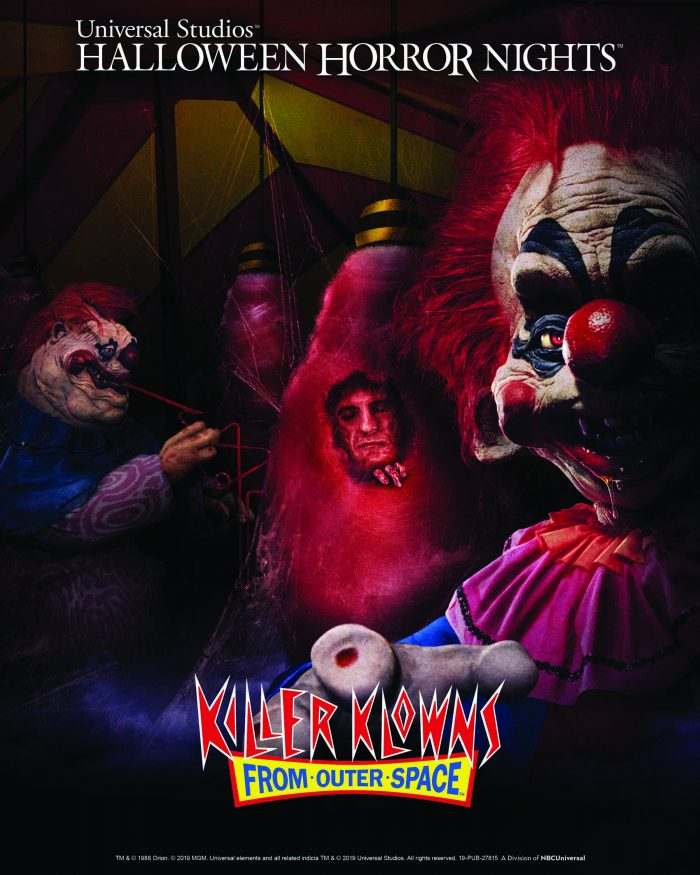 Killer Klowns from Outer Space Halloween Horror Nights poster