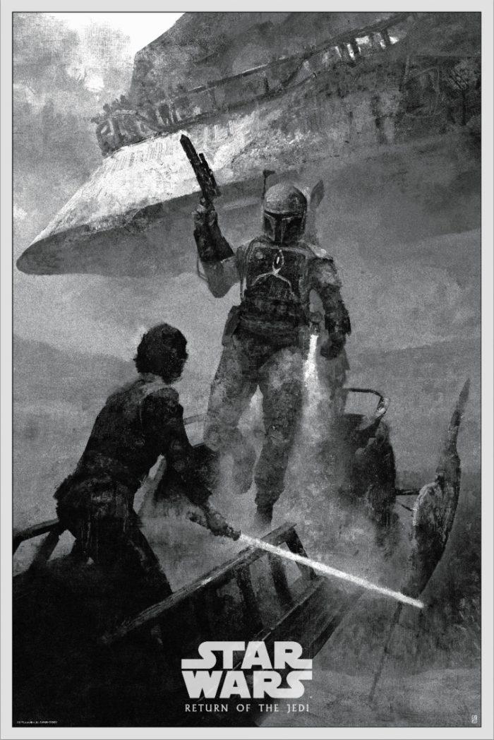"Karl Fitzgerald ""Skywalker Returns - Return of the Jedi Variant"" Screen print"