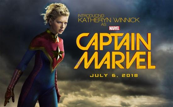 Katheryn Winnick Captain Marvel