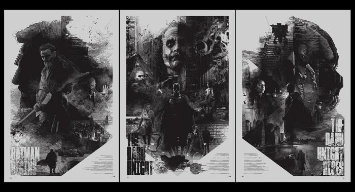 Krzysztof Domaradzki the dark knight trilogy prints