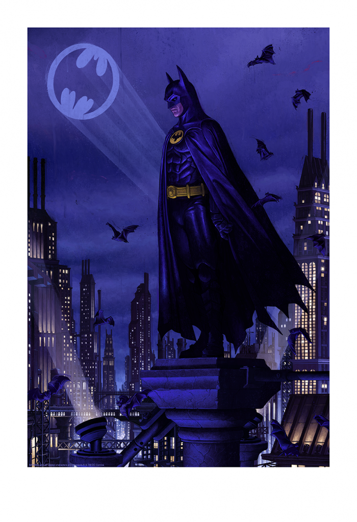 "Rory Kurtz ""Ikonescape: Batman"" Giclee"