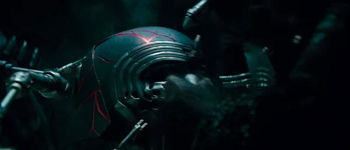 Kylo Ren helmet Star Wars The Rise of Skywalker