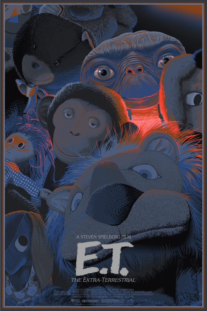 "Laurent Durieux ""E.T."" Variant Screen print"