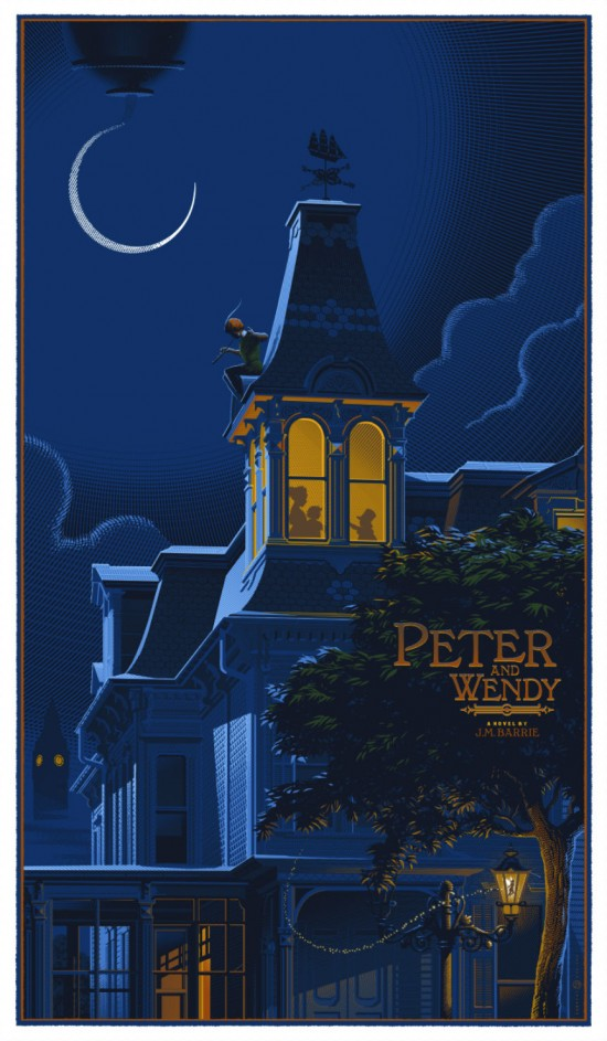Laurent Durieux - Peter and Wendy