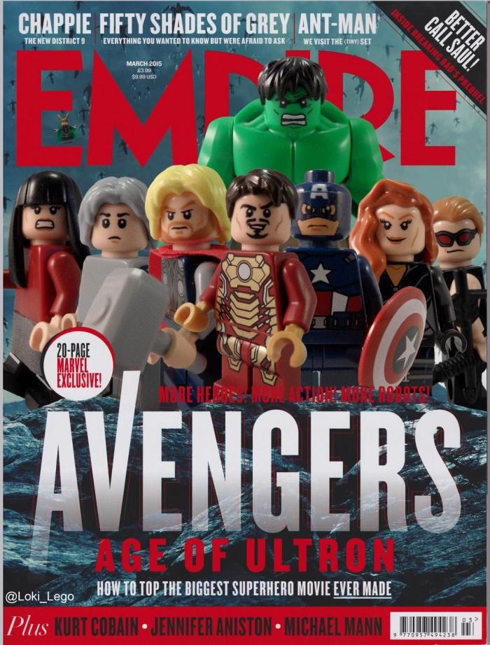 Lego Avengers Empire