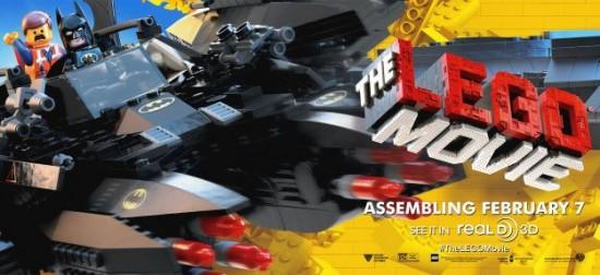 Lego Movie Banner Batman