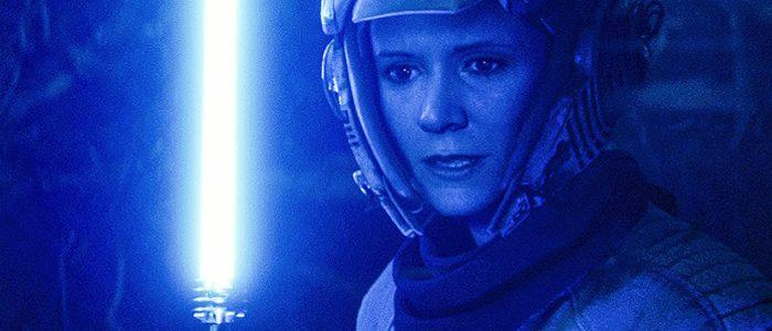 Leia's lightsaber