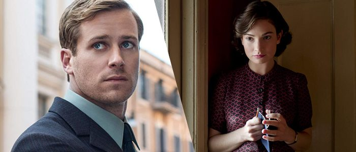 Lily James Armie Hammer