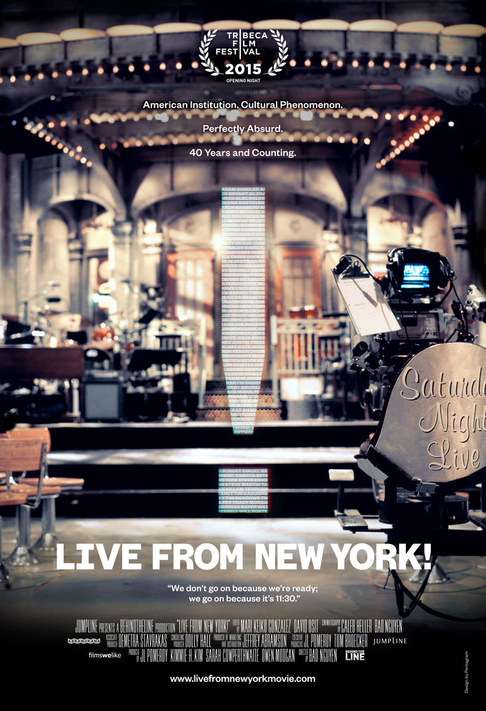Live From New York poster