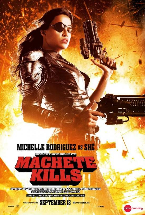 Machete Kills - Michelle Rodriguez as She