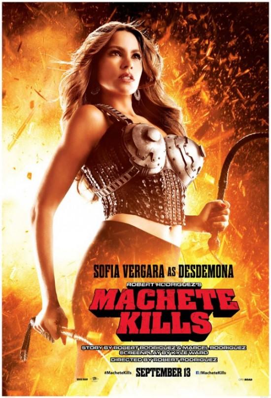 Machete Kills - Sofia Vergara as Desdemona
