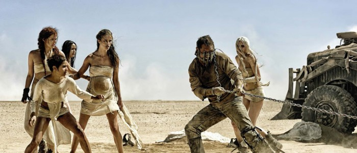 Mad Max Fury Road - Max and the wives