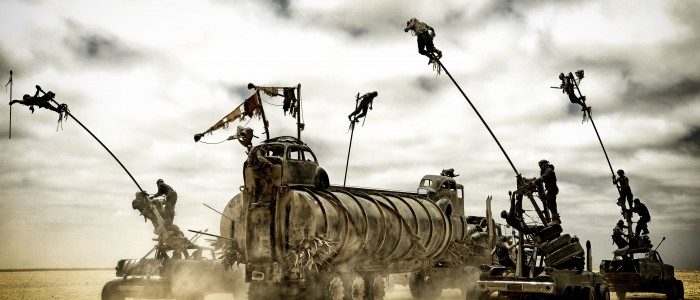 Mad Max Fury Road - road battle