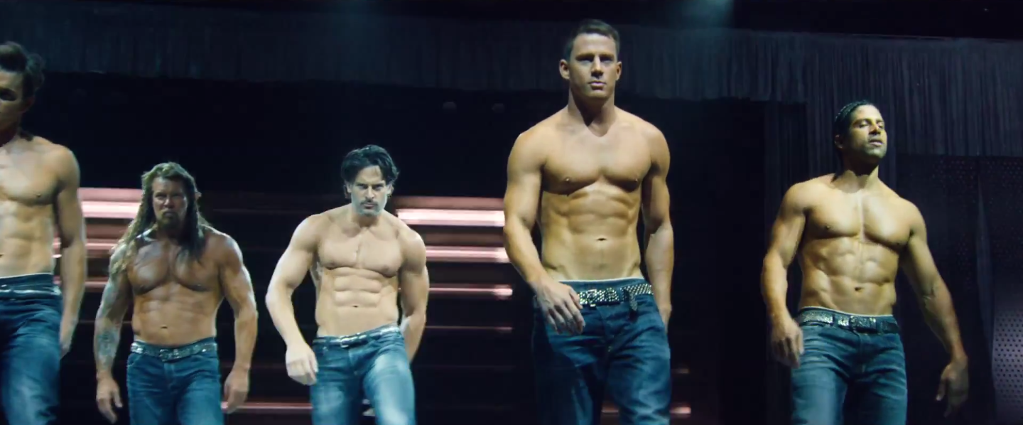 magic mike xxl trailer channing tatum hits the road. Black Bedroom Furniture Sets. Home Design Ideas